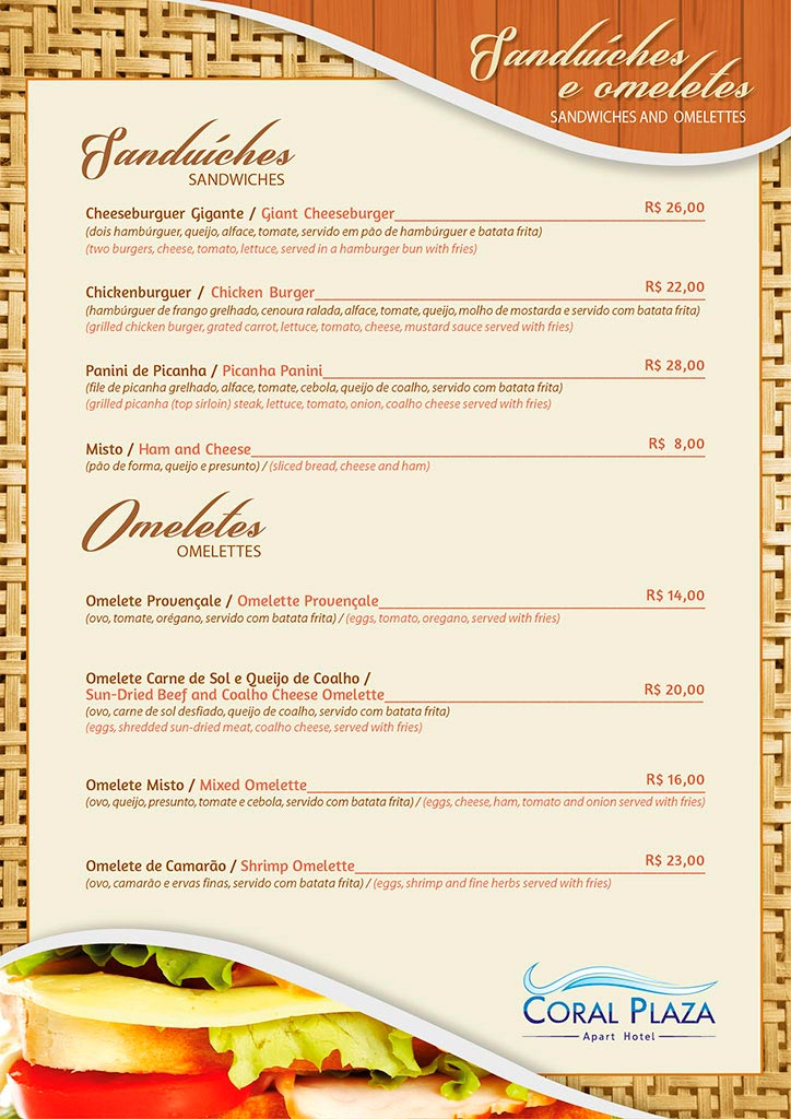 o restaurante do coral plaza  u00e9  u00fanico